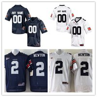 Wholesale Auburn Tigers Football Jersey - Custom Men Auburn Tigers College Football Limited navy blue white Personalized Stitched Any Name Number Cannella #2 #7 #90 #21 Jersey S-3XL
