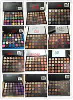 Wholesale Eyeshadow Palette Style - Makeup Eyeshadow 35 color Eyeshadow Natural Matte Palette 35OM 35OS 35O 35A 35B 35C 35D 35F 35N 35W 35T 35P 35E 35R 14 Style DHL shipping