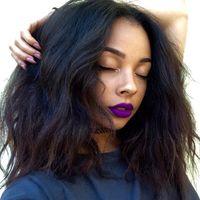 insan saçı peruk dolu yaki toptan satış-G-EASY Dantel Ön Peruk Bebek Saç Ile Doğal Balck Bakire Perulu Yaki Düz İnsan Saç Tam Dantel Peruk
