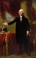 Compra George Washington-<b>George Washington</b> Ritratto ufficiale Stampa artistica Poster Poster Stampa Photopaper 16 24 36 47 pollici