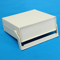 Wholesale Enclosure Plastic - 200*175*70mm Waterproof White Plastic Enclosure Project Box Instrument Desk Case Shell With Handle For Electronics Components