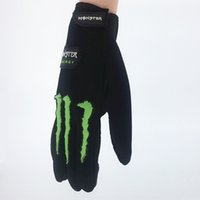 Wholesale Motorcycle Comfort - Wholesale- Fashion New Motorcycle Gloves Quality Stylishly Decorated Antiskid Wearable Full Finger Breathable Comfort Glove 202