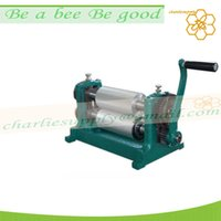 Wholesale 250mm beeswax foundation machine aluminum alloy wax foundation embossing machine