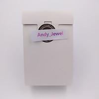 papierkästen für ring großhandel-Großhandel Exquisite Hochwertige Mini Weiß Papier Boxen Geschenkbox 9 * 6 * 3 cm Für Pandora Style Schmuck Charms Perlen Ringe Verpackung Taschen