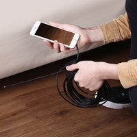 Wholesale 7mm Wire - 7mm HD Waterproof TYPE-C Endoscope for Android Smartphone PC 8Led Android Type-C USB Endoscope Camera 3m 5m 7m 10m Hard wire ann