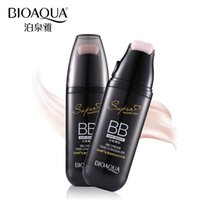 Wholesale korean bb - BIOAQUA Brand Air Cushion BB Cream Whitening Sun Block Perfect Cover Makeup Moisturizing Korean Cosmetics Foundation Make Up Kit
