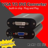 Convertitore video VGA a DVI HD VGA a DVI 24 + 1/5 Adattatore DVI-D / I Con chip plug and play integrato MINE DVI3000