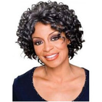 Wholesale Wholesale Wigs For African Americans - New Wave Synthetic Lace Front Wig short wigs for blacks short wigs african american women DHL bea452