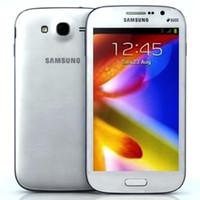 Wholesale dual lcd phone resale online - Original LCD Refurbished Samsung GALAXY Grand DUOS I9082 Inch G RAM G ROM MP Dual Core G Unlocked Phones