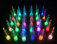 Wholesale Led Artificial Tree Wholesale - Hot Sale Artificial LED Christmas Tree LED Multicolor Lights Holiday Window Christmas Decorations Supplies For Home