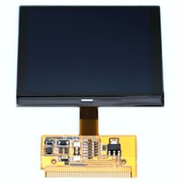 Wholesale a6 lcd vdo - Free Shipping VDO LCD CLUSTER Display Screen For Audi A3 A4 A6