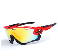 Wholesale pc road - Brand Polarized UV400 Sports Men Sunglasses Road Cycling Glasses Mountain Bike Bicycle Riding Protection Goggles Eyewear