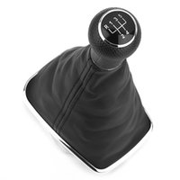 Wholesale Automobile Five Speed Leather Shift Knob Shifter Boot Gear Lever Dustproof Gaiter