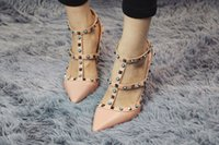 Livraison gratuite New Hot Woman Summer High Heels Spikes Lady Buckle Chaussures en cuir Brand Gladiator Sandals Wholesale