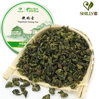 Wholesale sweet oolong tea online - 80g Top grade Tie Guanyin oolong tea natural organic green food health slimming tea sweet fragrance flavor Recommend
