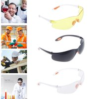 Wholesale Dental Protective Glasses - 2017 Fashion Cycling Sunglasses Eye Protection Protective Safety Riding Goggles Glasses Work Lab Dental 4 Colors NAA013