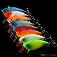 Wholesale Walleye Lures - Fishing Lure Minnow Hard Bait Fresh Water Shallow Water Bass Walleye Minnow Fishing Tackle offshore angling 7.1cm11g Custom color