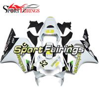 honda 954 fairing white NZ - Injection Motorcycle ABS Plastics White Pale Yellow Covers Fairings For Honda CBR900RR 954 Year 02-03 2002 2003 Full Fairing Kit Bodywork