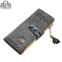 Wholesale Cute Card Designs - Wholesale- Women's Purse High Quality Design With Umbrella Women Wallet Long Style Luxury Design Brands Cute Girl Leather Purse C0440 l