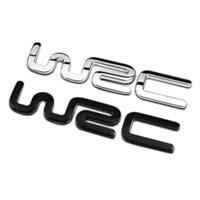 Wholesale sticker citroen - OTOKIT Alloy WRC 3D Metal Auto Car Badge Emblem Sticker for Toyota Yaris Ford Fiat Citroen Audi SUZUKI Volkswagen VW Golf Cruze