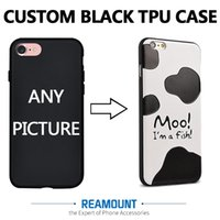 Plastic blackberry customize - 100pcs Personalized case DIY case for iPhone s plus s Custom Design High Quality TPU Case for iPhone s plus