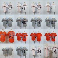 Wholesale Boys Shorts George - Youth Houston Astros Jerseys 34 Nolan Ryan 27 Jose Altuve 4 George Springer 1 Carlos Correa Blank Kids Baseball Jerseys Stitched