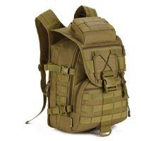 Wholesale Molle Backpack Cordura - Wholesale Men Waterproof Molle Trekking Bag Military 3P Tactics Backpack Knapsack Women Assault Cordura Bag Free Shipping