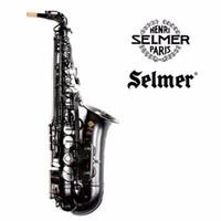 Wholesale Black Nickel Alto Saxophones - 2017 High Quality Selmer 54   E-flat alto saxophone musical pearl black professional Black Nickel Gold shipping
