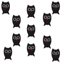 Wholesale Iron Applique Owls - Diy Owls patches for clothing iron embroidered patch applique iron on patches sewing accessories badge stickers on clothes bags