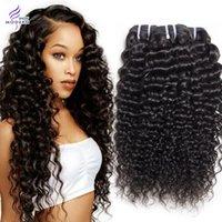 Wholesale Black Hair Extensions Kinky Curly - Brazilian Curly Weave Virgin Human Hair Bundles Brazilian Kinky Curly Hair Weaves 3 Bundles Deals Brazilian Human Hair Extensions