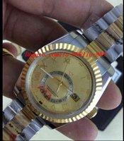 ingrosso nuovo uomo in oro bianco del braccialetto-Orologi di lusso Nuova vendita calda 326939 orologio da uomo automatico in oro bianco orologio da uomo in acciaio inossidabile Bracciale da polso