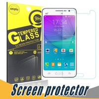 Wholesale Edge Active - Tempered Glass Clear Transparent 9H 2.5D Screen Protector Film With Paper Retail For Samsung S7 Edge S4 S5 S6 S7 Active I9100