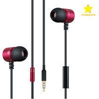 Wholesale Free Copper Wire - 3.5mm Audio Earphone Headphon Earphone Noise Cancelling In Ear Hands Free Stereo Copper Earbuds with Universal Mic with Retail Package.