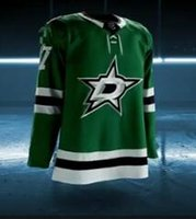 Wholesale Any Sharp - 2017-2018 Season Dallas Stars Jersey 14 Jamie Benn 91 Tyler Seguin 10 Patrick Sharp 13 Mattias Janmark Custom Any Hockey Jerseys