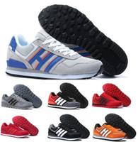 Wholesale Shoes Zx - Cheap Men NEO Retro Casual Shoes Women 3M ZX 700 Red Leisure Loafers Flat Boston Super Primeknit Zapatos Hombre Female Replicas Sports Shoes