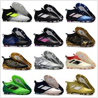 Wholesale Cheap Hot Shoes Online - 2017 Discount Cheap Ace17+ Purecontrol FG AG Ace 17 Cheap Online Hot-sell Soccer Shoes Football Sneakers Soccer Cleats Soccer Boots