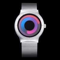Wholesale Cool Watch Bands Women - High quality imported quartz movement fashion Novel cool Watch women and men casual watches steel band Quartz Wristwatch