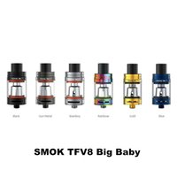 5ml pair design - 100 Original Smok TFV8 Big Baby Tank ml Top Refill TFV8 Big Baby Cloud Beast Atomizer Re designed Bottom Pair air slots