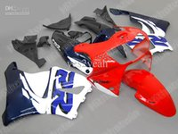 White Red Fairing kit Para HONDA CBR900RR 98 99 CBR-900RR CBR 900RR 919 1998 1999 Entalhes set + 7gifts