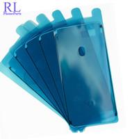 ingrosso adesivo adesivo a telaio-50 pz / lotto Nastro Adesivo Impermeabile Colla per iPhone 6 S 6 S Plus 7 7 Plus Custodia Anteriore LCD Screen Frame Sticker Per iphone 8 8 Plus X