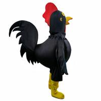mascote de galinha adultos venda por atacado-2017 venda Quente frango Traje Da Mascote para Adulto Fancy Dress Party Halloween Costume frete grátis
