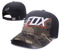 Wholesale Sell Spring Letter - 2017 hot selling fox cap Ball Caps Cool Baseball Cap Hip Hop Snapback Adjustable Snapbacks Summer Sun Hat Wholesale retail