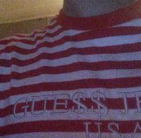 Wholesale Usa Tees - SS17 Rocky Skateboard Kanye Tee Embroidery USA JEANS Letter t shirt Skateboards Streetwear t shirt men vetements striped t-shirt