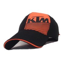 Wholesale Ktm Hats - The new KTM VR46 motorcycle racing team Tacoma hat cap outdoor baseball cap K right oblique strip