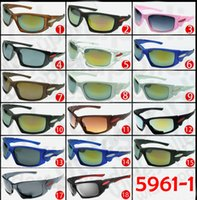 Wholesale outdoor cycling glasses resale online - 2017 Popular Sunglasses Cool Brand New Designer Sunglasses for Men and Women Outdoor Sport Cycling SUN Glass Eyewear colors Factory Price