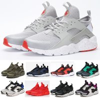 Wholesale Free Ice Skates - HUARACHE RUN Fashion Original top quality AIR HUARACHE running shoes Men And women 19 color Free shipping size 36-45 Other Ice Skates