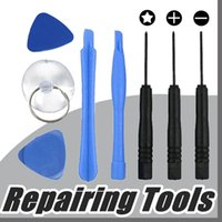Wholesale Star 4g - 8 in 1 REPAIR PRY KIT OPENING TOOLS With 5 Point Star Pentalobe Torx Screwdriver For APPLE iphone 4 4S 4G 5 5G SE 5S 6 6S 7 Plus A-GL
