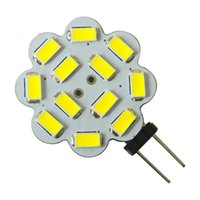 Wholesale RV boat marine corn bulb G4 SMD LED crystal chandilier Lamp Light White AC12V DC12V