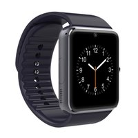 Wholesale Control Camera Clock - GT08 smart watches mobile phone intelligent clock with SIM card camera message reminder bluetooth calls whatsapp micro SD for Android phones