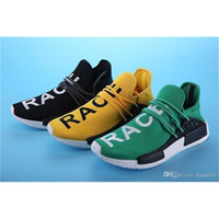 Wholesale Basketball Times - 2017 Pharrell Williams NMD HUMAN RACE Running Shoes Men Classic Sport Sneakers With Original Box Drop Shipping Timed Discount Hot Sale